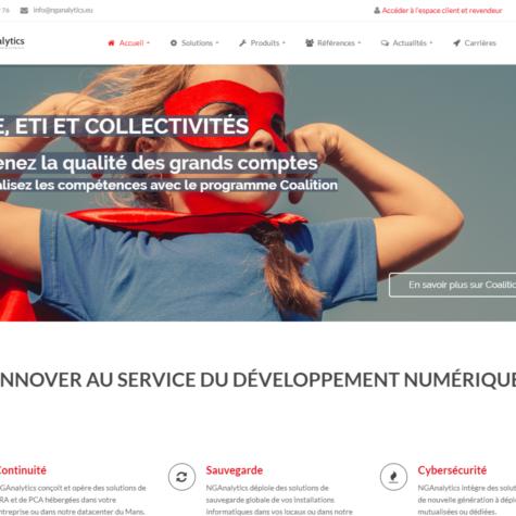 Accompagnement web Quatrix - NGAnalytics
