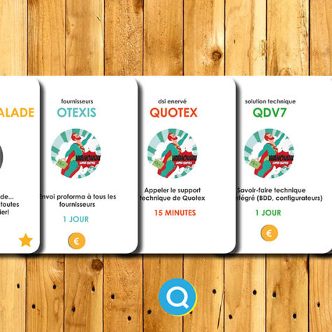 Quotex - Quatrix - Jeu de cartes